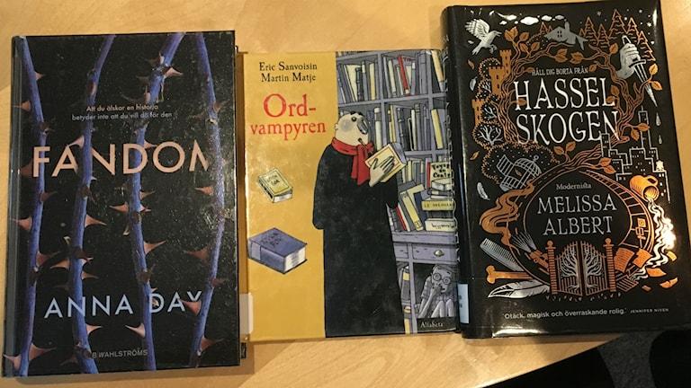 Magiska böcker för barn och unga.