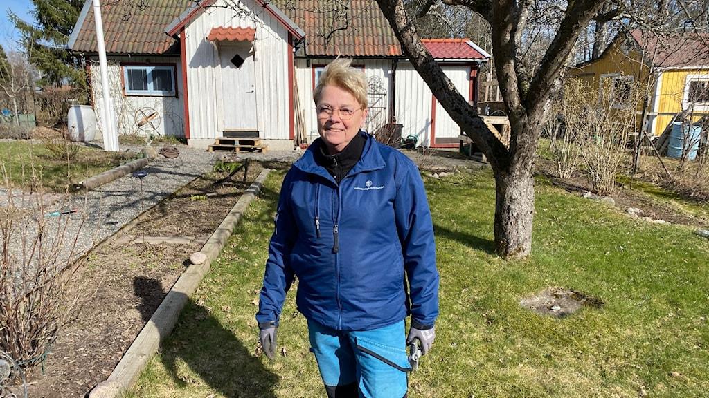 Helena Westerling från Koloniträdgårdsförbundet