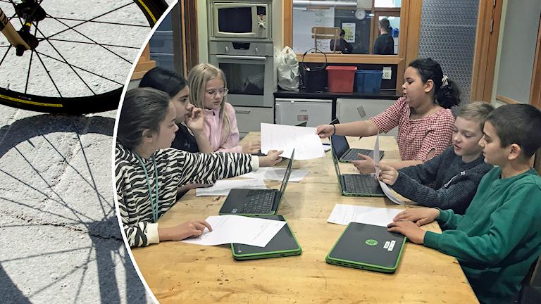 Eleverna på Sofielundsskolan i Sollentuna