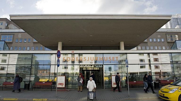 Södersjukhusets entré. Foto: Henrik Montgomery /Scanpix.
