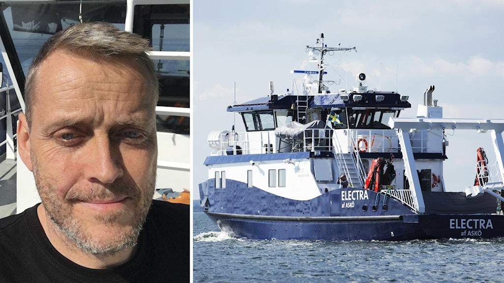Thomas Strömsnäs är befälhavare på R/V Electra.
