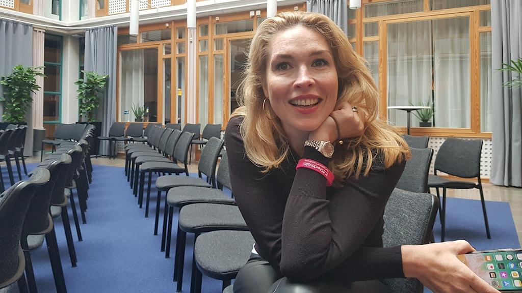 Ariane Bucquet Pousett, projektledare för evenemanget