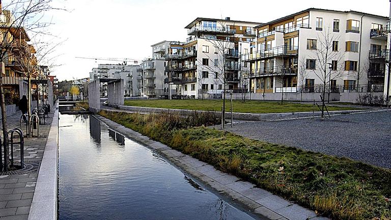 Hammarby Sjöstad. Foto: Jurek Holzer / Scanpix.