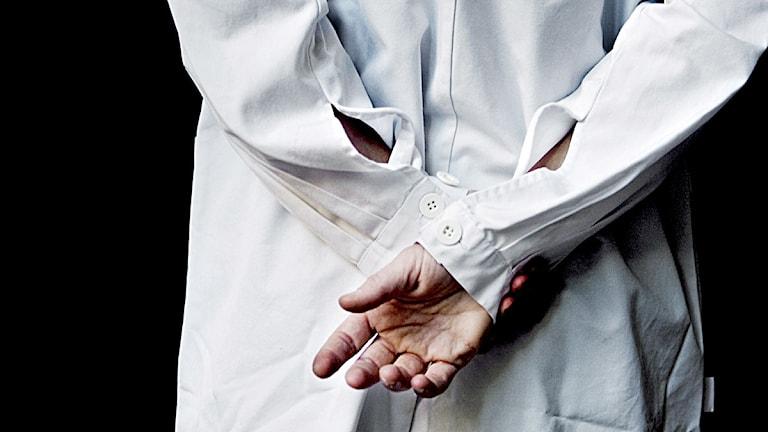 Läkare i läkarrock. Arkivfoto: Cleis Nordfjell /Scanpix.