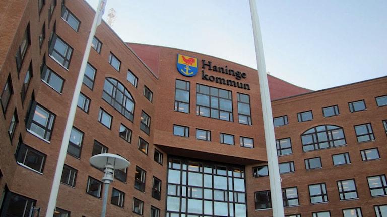 Kommunhuset i Haninge. Foto: Maria Pettersson/ Radio Stockholm