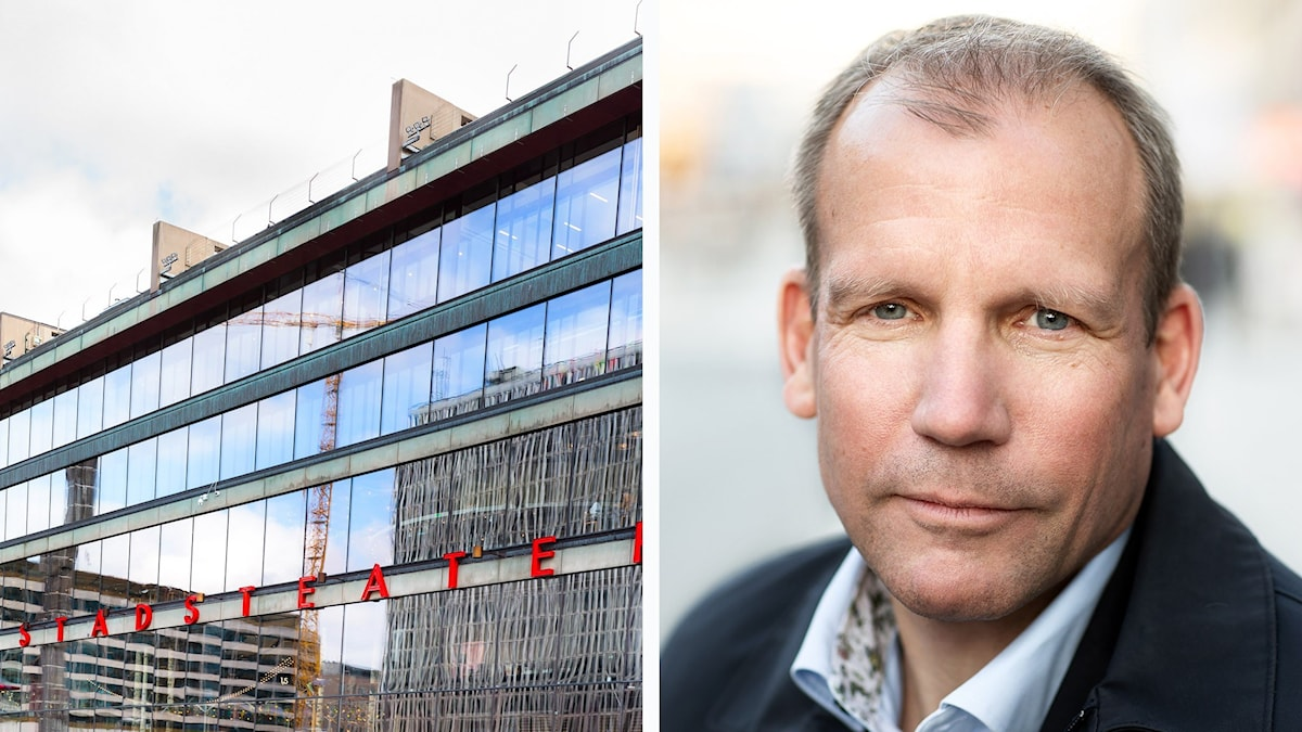 Vd Jesper Larsson lämnar uppdraget på Kulturhuset Stadsteatern.