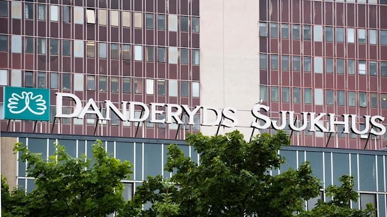 Danderyds sjukhus, exteriör Foto: Henrik Montgomery / SCANPIX