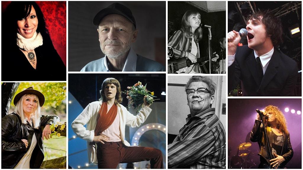 De invalda i Swedish Music Hall of Fame 2018.