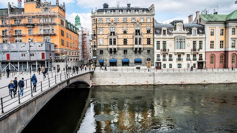 Staten är redo att betala 550 miljoner för Adelswärdska huset, mellan Rosenbad och Sagerska huset.