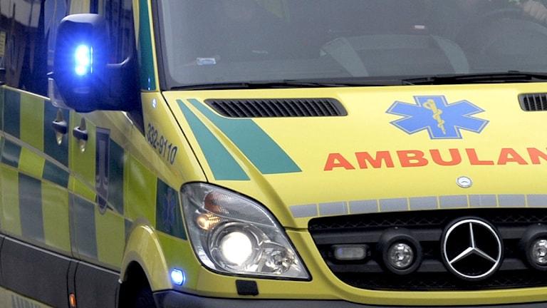 Ambulans. Foto: Janerik Henriksson / SCANPIX