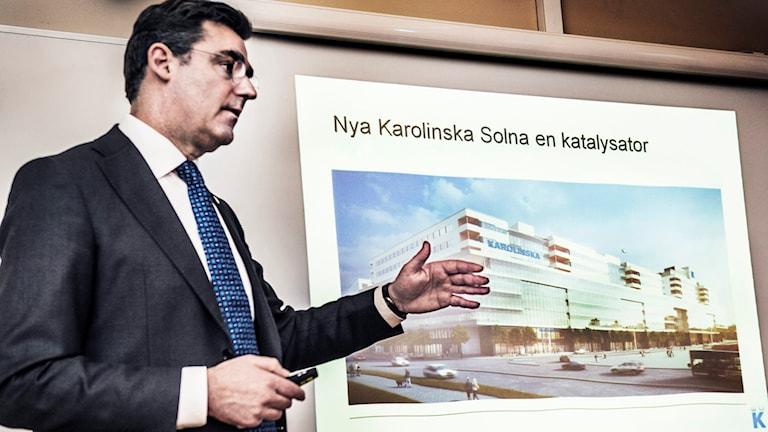 Sjukhusdirektör Melvin Samsom (arkivbild).