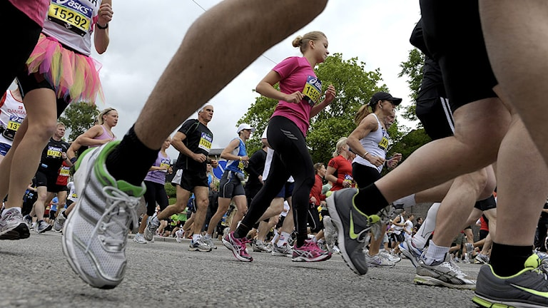Rekordmånga spramg Stockholm Marathon