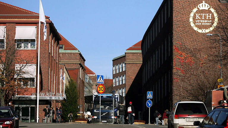 KTH i Stockholm. Foto: Fredrik Sandberg /Scanpix.