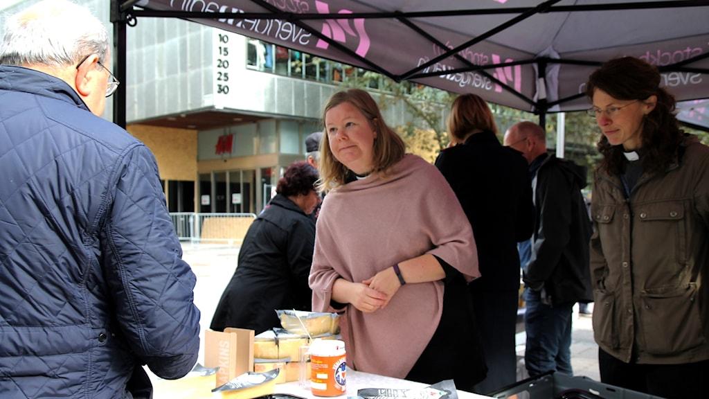 Prästostförsäljning i Södertälje