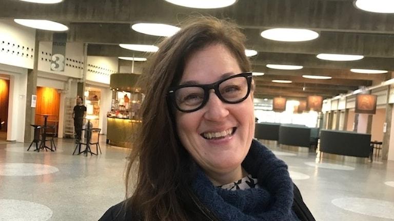 Matinspiratören och kokboksförfattaren Anette Rosvall /Foto: Sveriges Radio