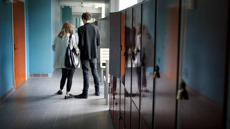 Många elever når inte behörighet till gymnasieskolan. Foto: Jessica Gow/Scanpix