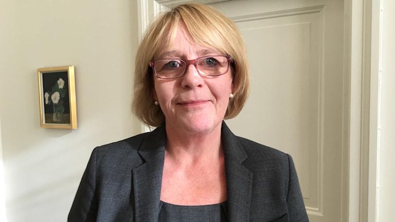 Irene Svenonius (M) finanslandstingsråd.