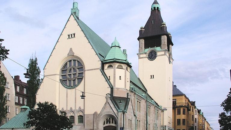 Matteuskyrkan i Vasastan.