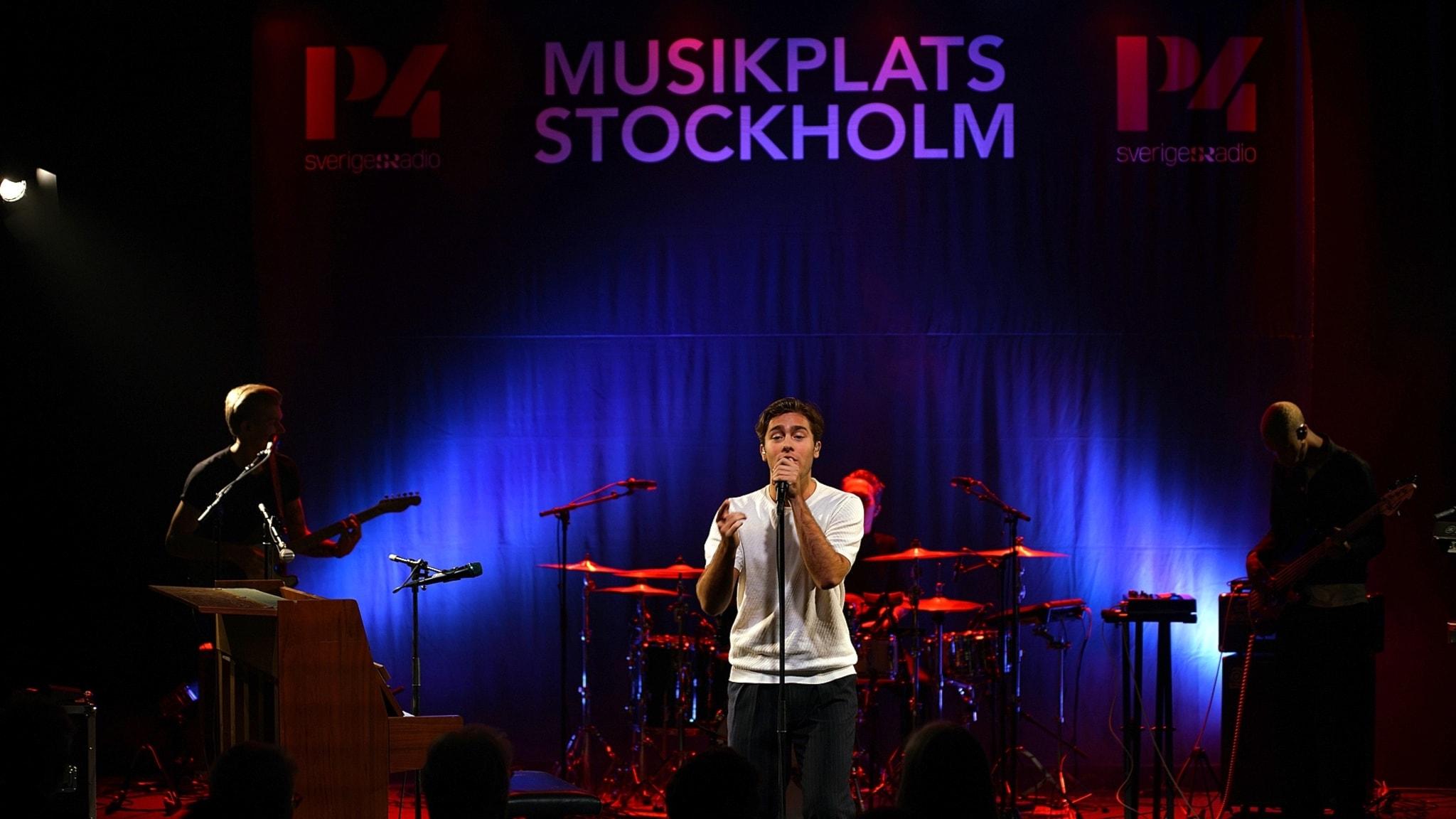 Livekonsert med Benjamin Ingrosso