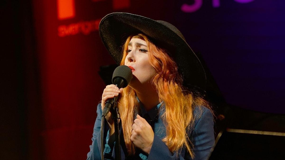 Miss Li i Musikplats Stockholm.