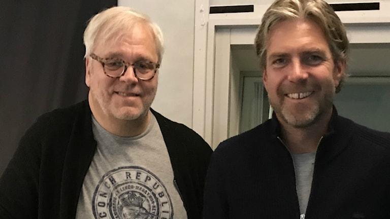 Jörgen Elofsson och Fredrik Eliasson.