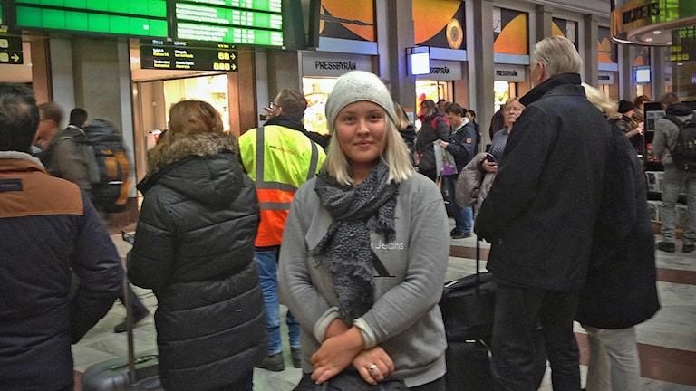 Hannah Sommerfors på Centralen