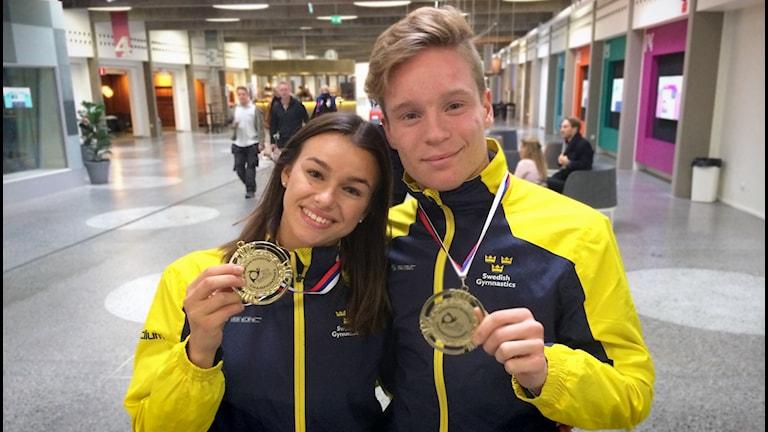 Minora Bristedt och Kevin Dannefalk