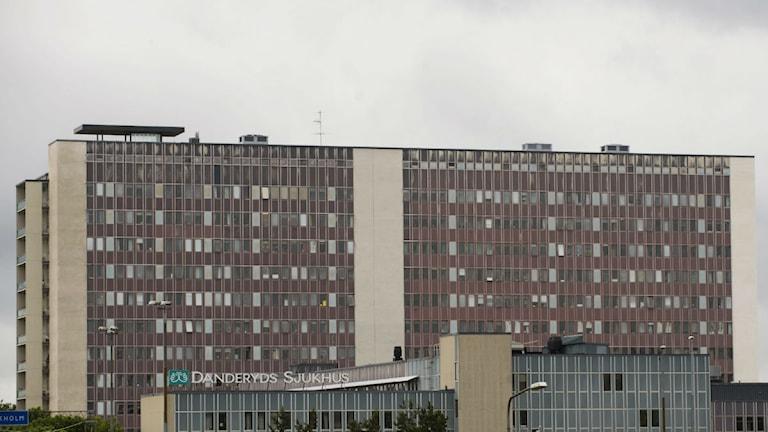 Danderyds sjukhus. Foto:Henrik Montgomery/Scanpix.