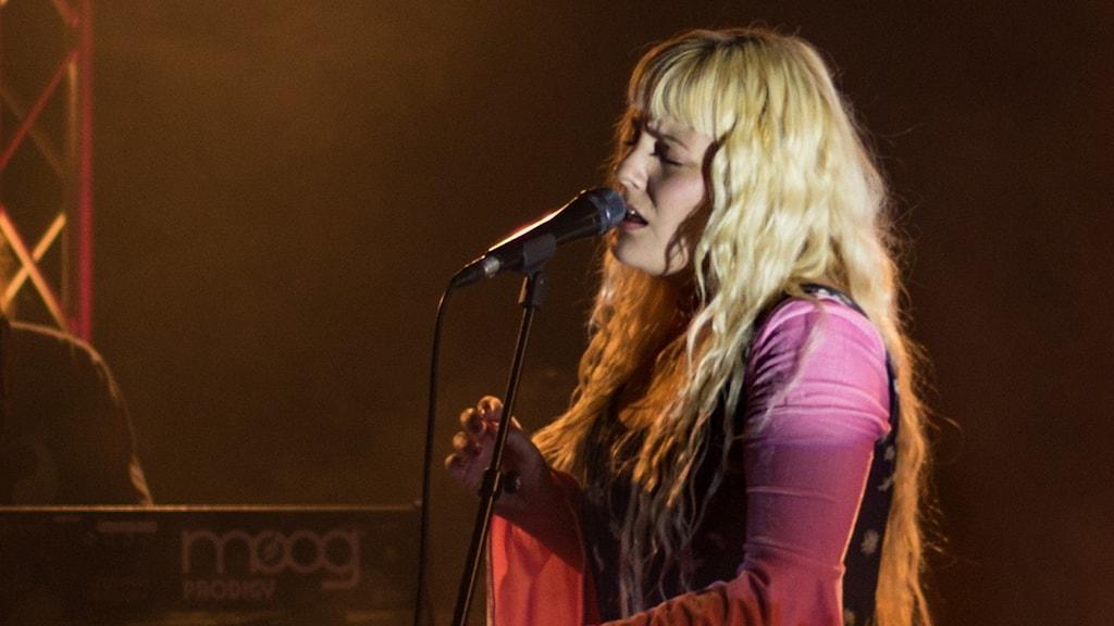 Maja Francis på Musikplats Stockholm.