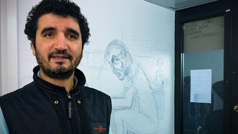 Initiativtagaren Kavian Ferdowsi.