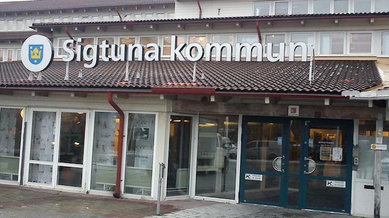 Sigtuna kommunhus. Foto: Elisabet Andersson/Sveriges Radio