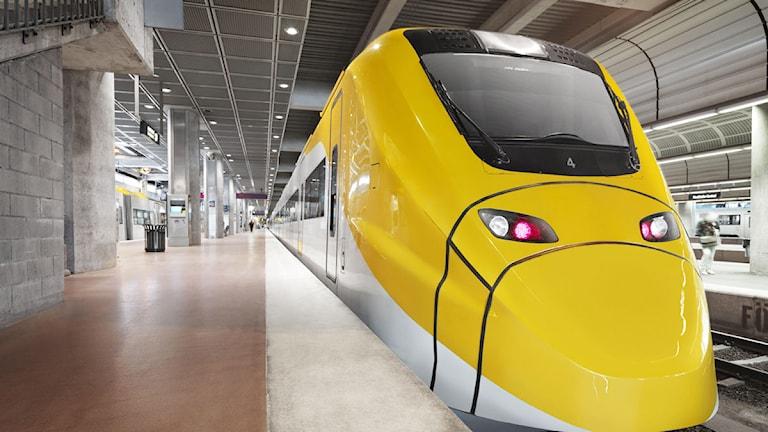 Arlanda Express Foto: Niclas Alm / SCANPIX