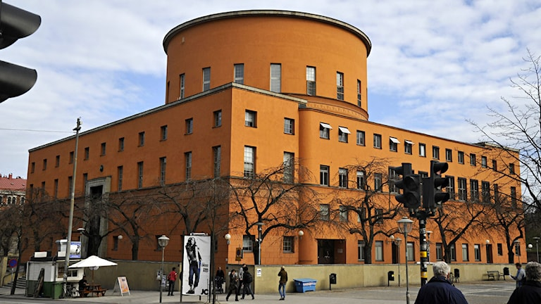 Stockholms stadsbibliotek. Foto: Hasse Holmberg / SCANPIX