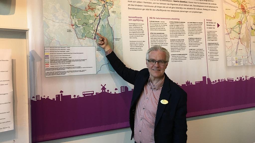 Mats Johannesson, samhällsbyggnadsstrateg, Södertälje kommun