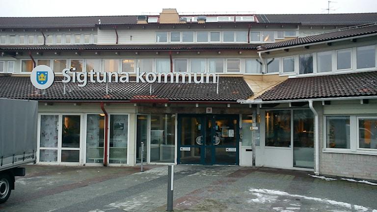 Sigtuna kommunhus. Foto: Elisabet Andersson, P4 Radio Stockholm