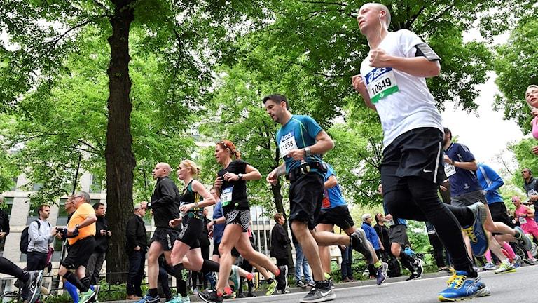 Dagens löpartävling påverkar trafiken en hel del (arkivbild).