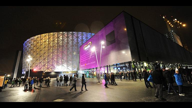 Vid årskiftet tar Lagardère Unlimited över driften av Friends arena. Foto: Fredrik Sandberg/TT.