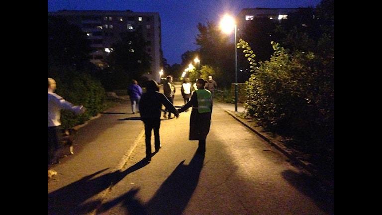 Nattvandrare i Jakobsberg