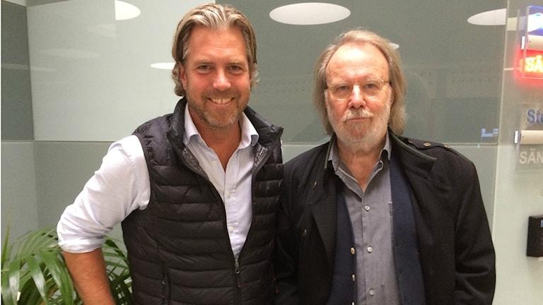 Fredrik Eliasson och Benny Andersson.