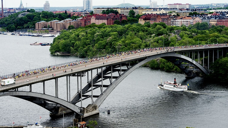 Västerbron i Stockholm. Foto: Scanpix