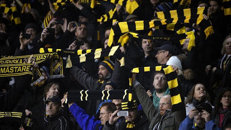 AIK fans Foto: Scanpix