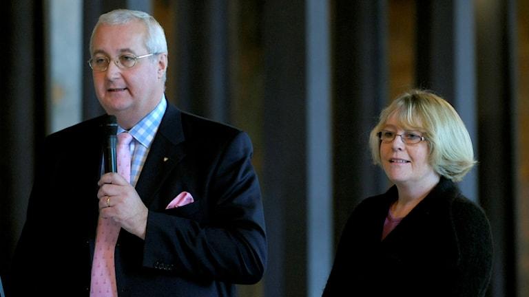 Sten Nordin och Irene Svenonius