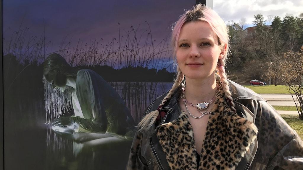 Arvida Byström från Värmdö ställer ut i Fotoparken
