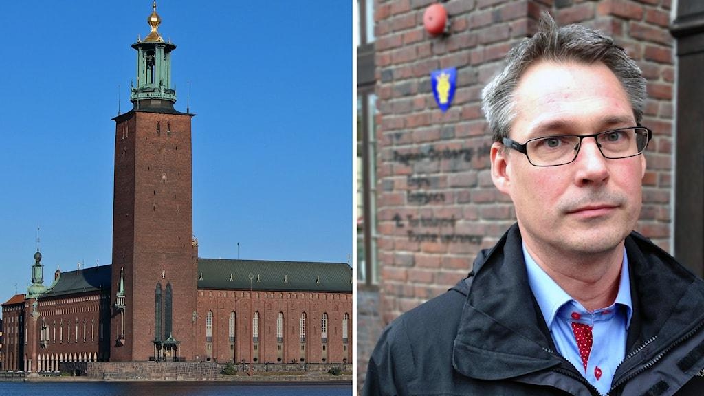 Stockholm Stadshus och Roger Mogert (S)