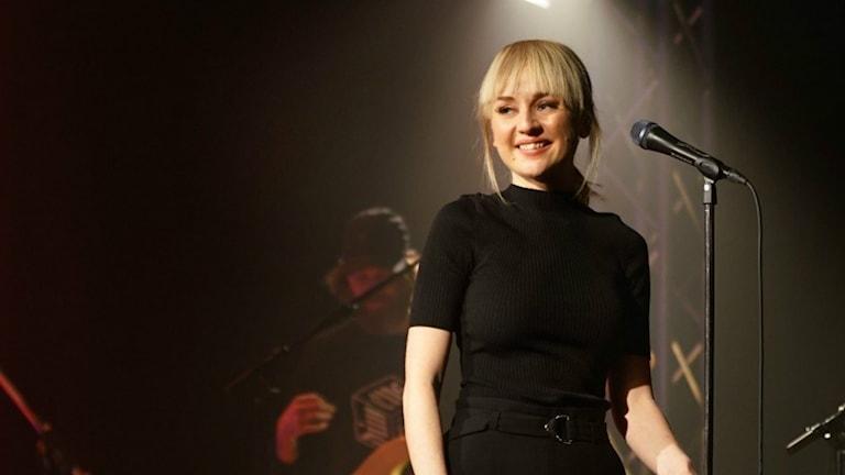Anna Bergendahl på Musikplats Stockholm.