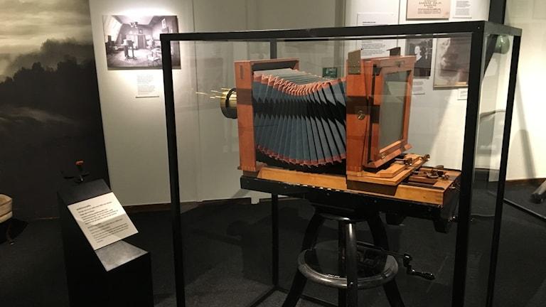 En väldigt stor kamera - tekniska museet