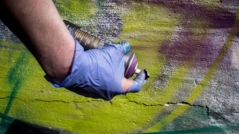 Klotter/ graffitti / foto:Helena Landstedt/TT