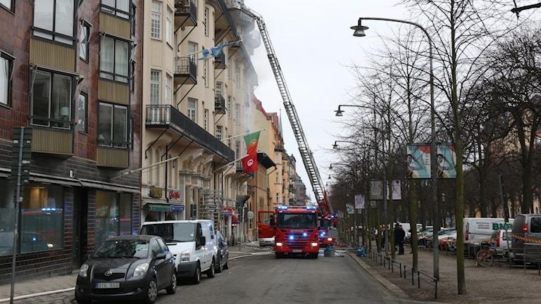 Branden på Narvavägen