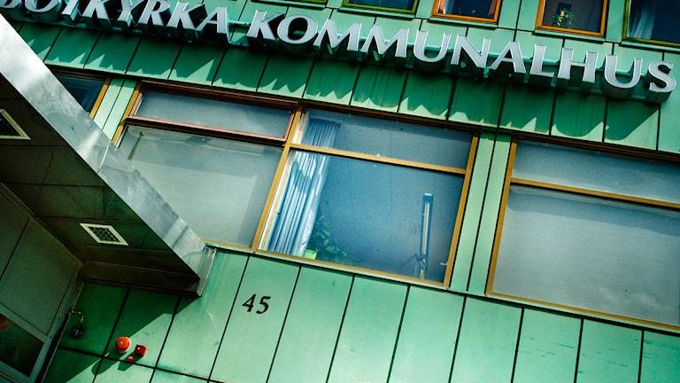 Botkyrka kommunhus. Foto: Scanpix.