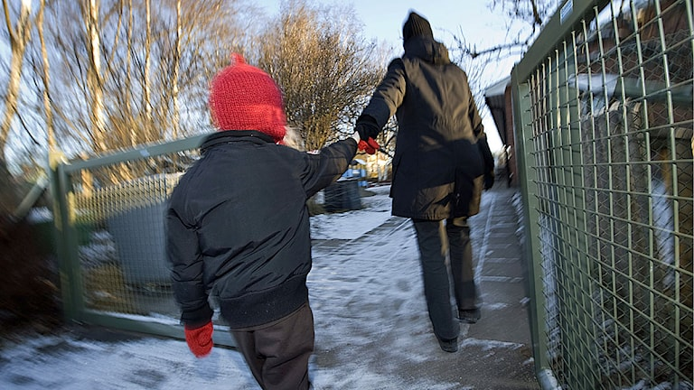 En anhörig hämtade fel barn på en förskola i Täby. Arkivbild.